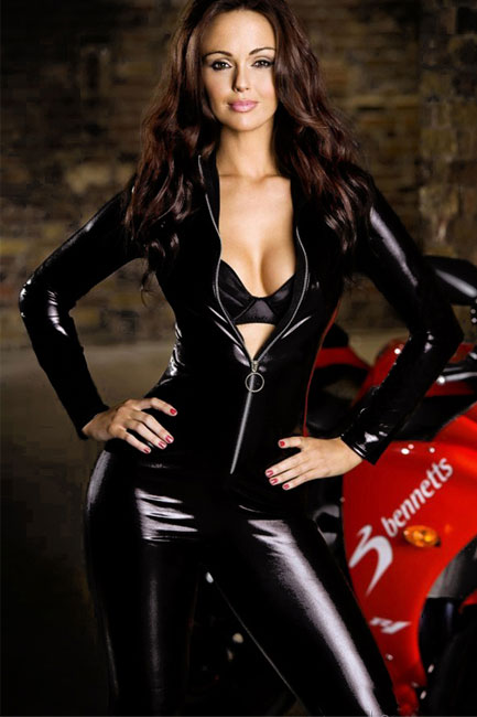 Latex and rubber girdle story