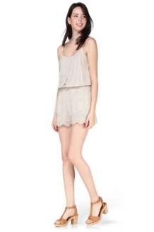 ROMANTISCHE BOHEMIAN OFF WHITE PLAYSUIT VAN VERO MODA, JUMPSUIT