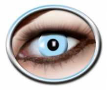 PARTY LENS TYPE ICY BLUE, 12 MAANDEN