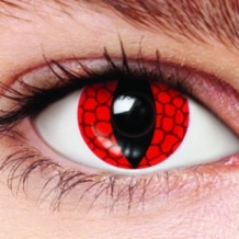 PARTY LENS TYPE RED DRAGON, 12 MAANDEN
