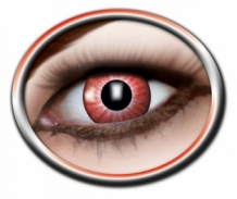 PARTY LENS TYPE RED IRIS, 12 MAANDEN
